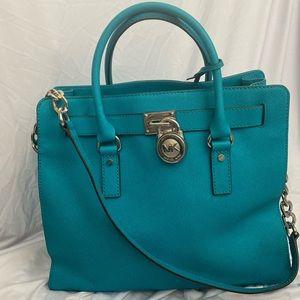 Michael Kors Turquoise Large Handbag